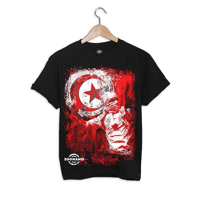 ZOONAMO Tunesië t-shirt