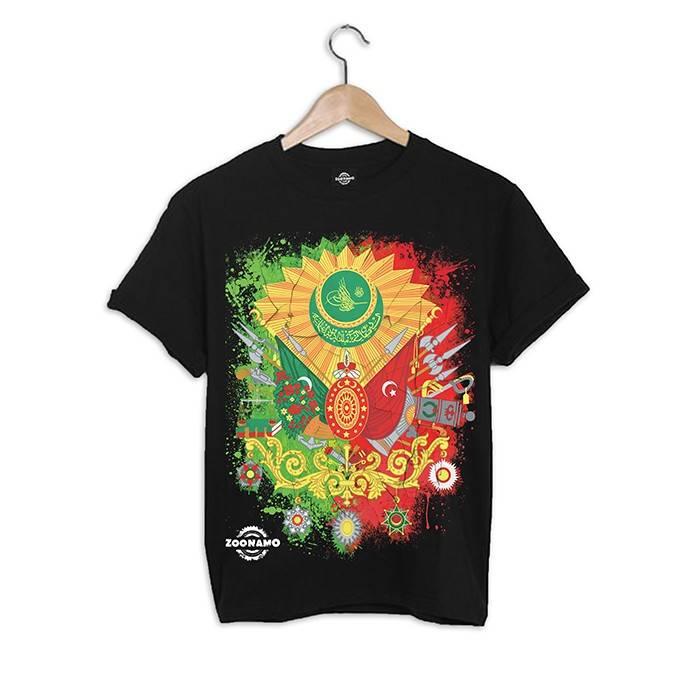 ZOONAMO Ottomaanse Rijk t-shirt