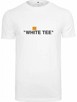 turn up. white tee.