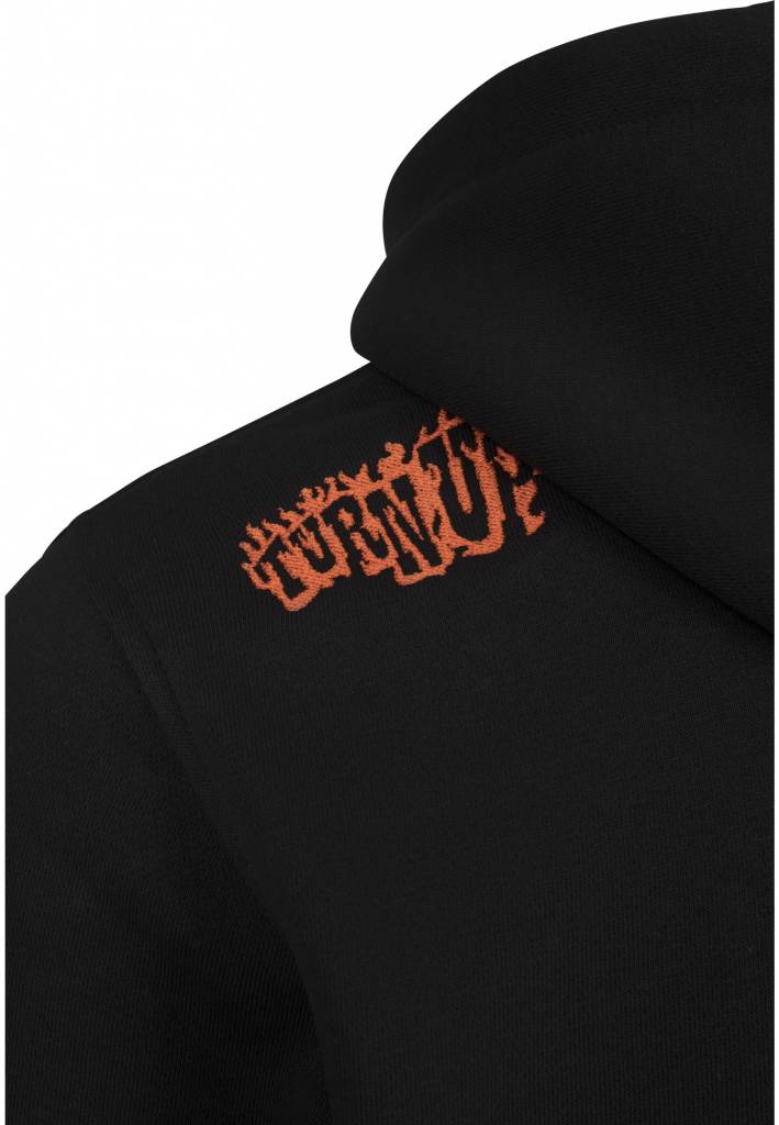 turn up. supalace collab hoodie.