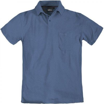 North 56 Polo 99011/055 Blau meliert 3XL