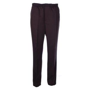 Luigi Morini elastische Hosen Amberg dunkelbraune Größe 34