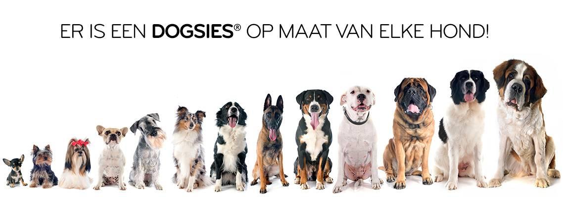 Er is een Dogsies® op maat van elke hond
