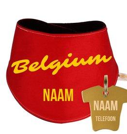 Dogsies® Hondensjaaltje Belgium + penning