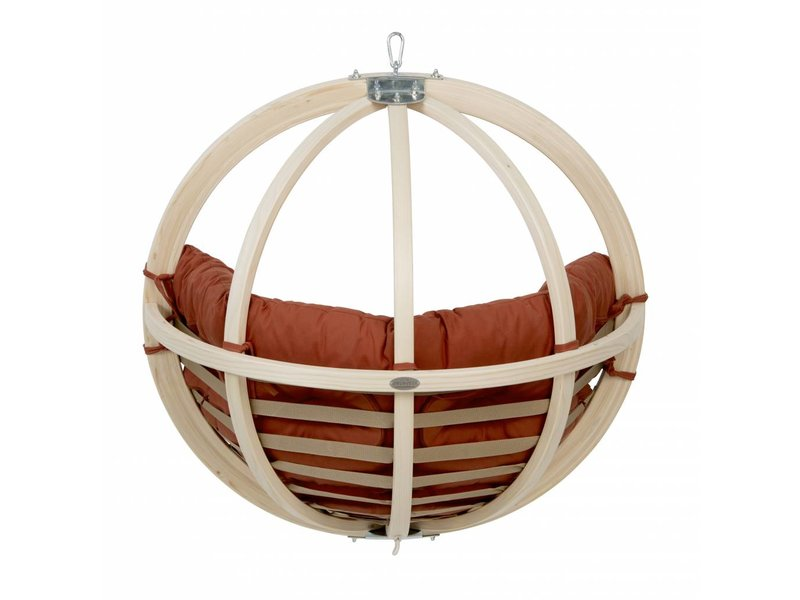 La Siesta Kinderhangstoel 'Kid's Globo' Terracotta