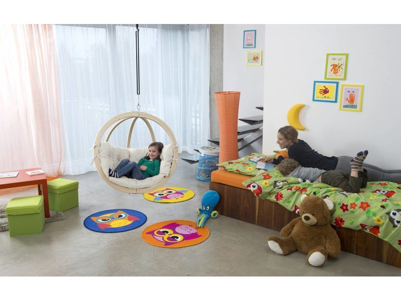 La Siesta Kinderhangstoel 'Kid's Globo' Natura