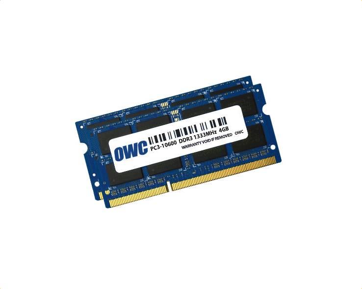 OWC OWC 8GB RAM kit (2x4GB) MacBook Pro Anfang 2011 zu Ende 2011