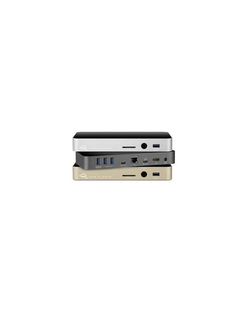 OWC OWC USB-C Dock - Silber