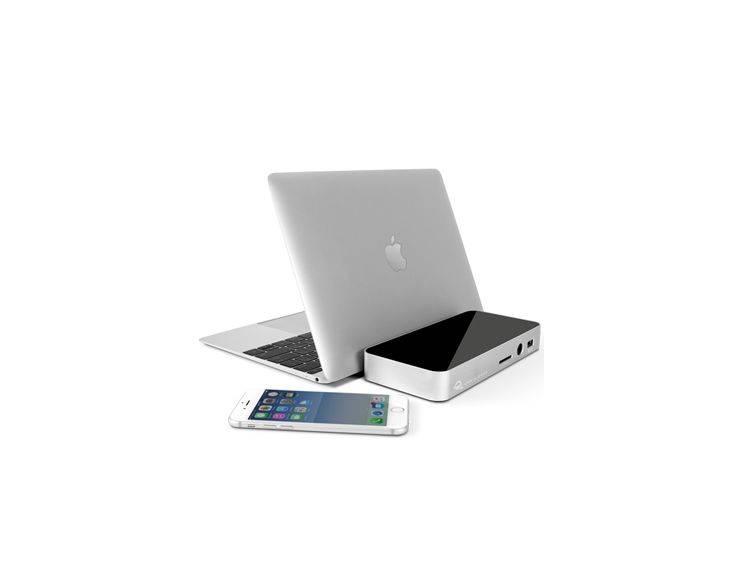 OWC OWC USB-C Dock (Silber)