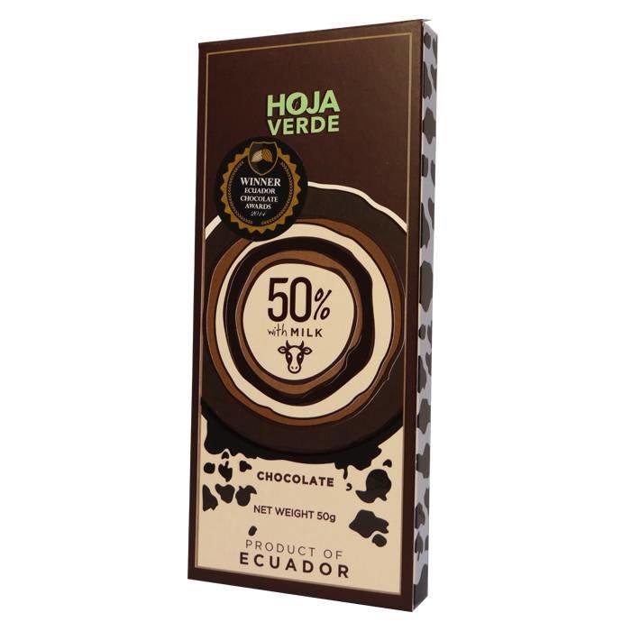 50% Donkere melkchocolade, 50 g
