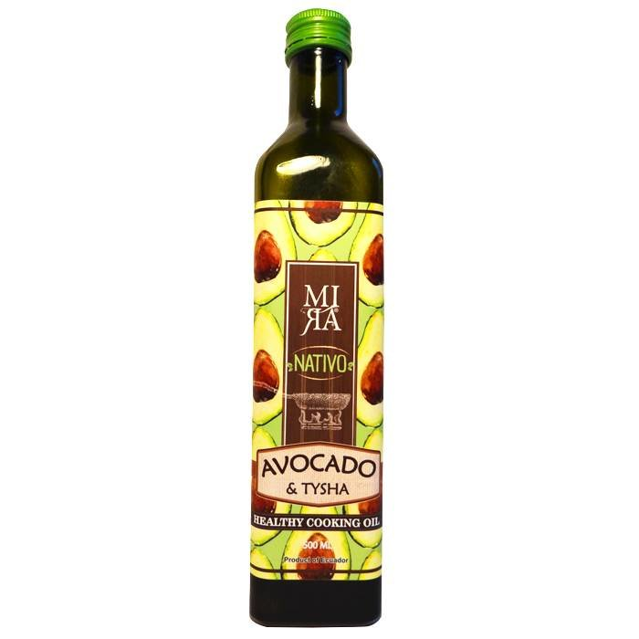 Nativo avocado bakolie, extra vierge, Ecuador, 500 ml