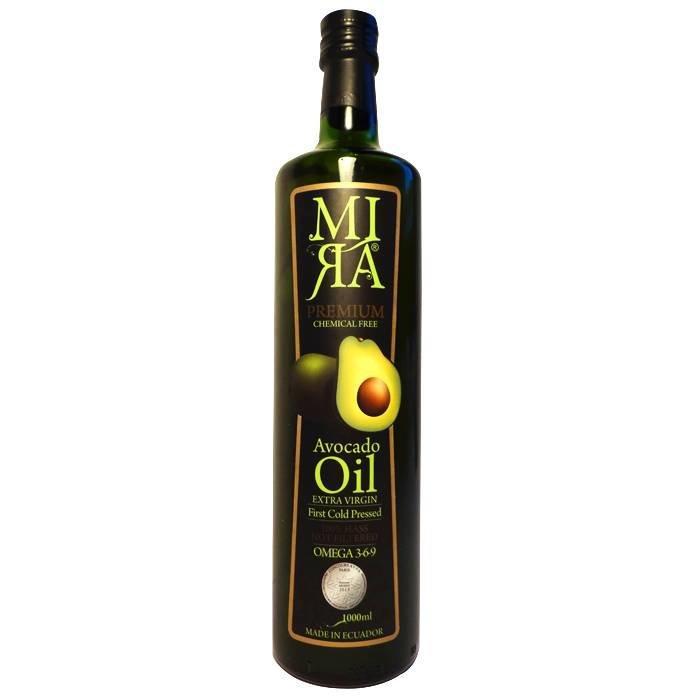 100% Hass avocado olie, extra vierge, Ecuador, liter