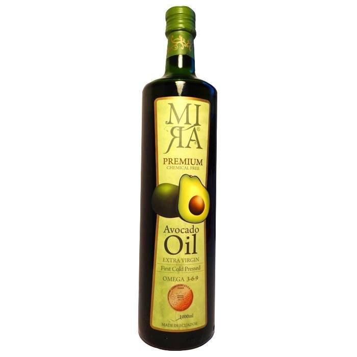 Original avocado olie, extra vierge, Ecuador, liter