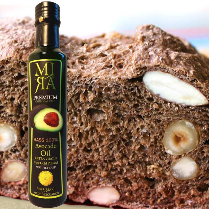 Notenbrood met MIRA avocado olie