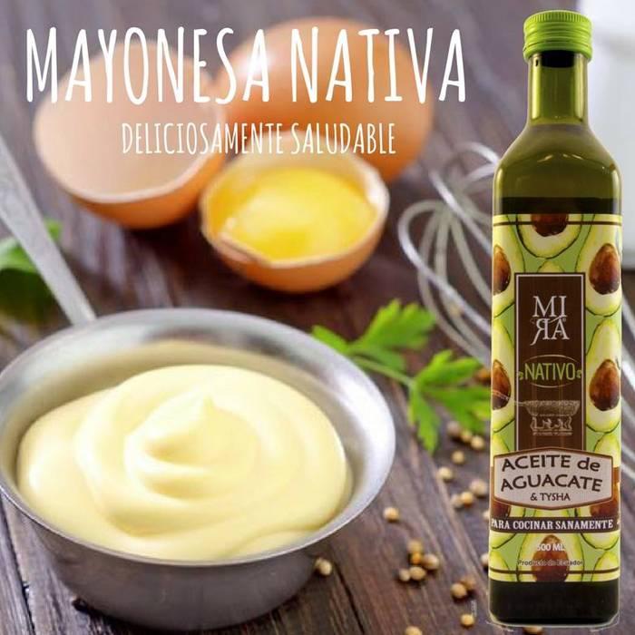 Gezonde mayonaise met MIRA avocado olie