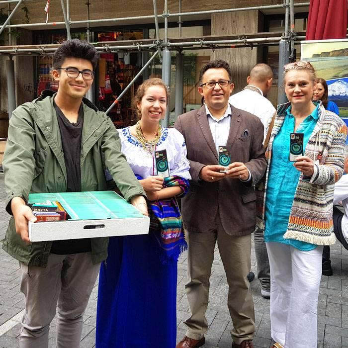 Ecuador's Fine Taste bij viering Onafhankelijkheidsdag Ecuador