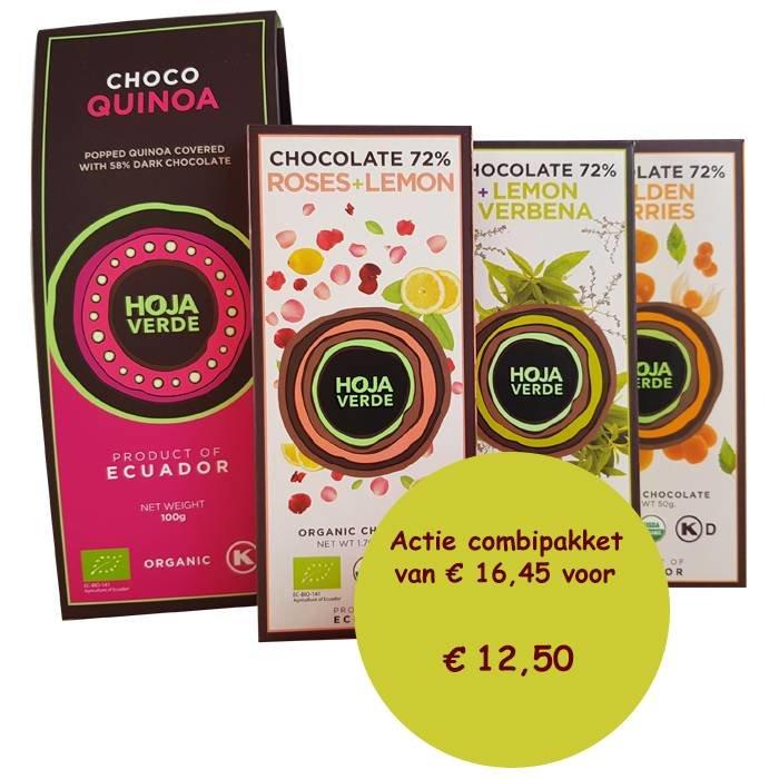 Chocolade pakket met Choco quinoa