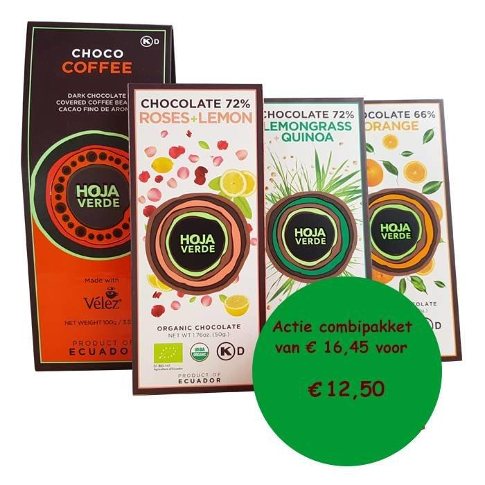 Chocolade pakket met Choco coffee