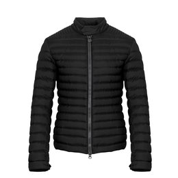 Colmar Down Padded Biker Jacket With A High Neck