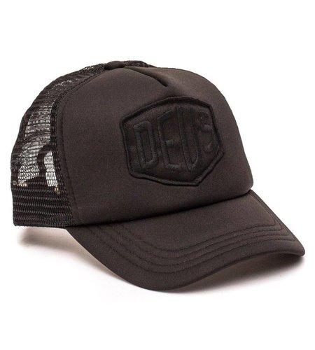 Deus Baylands Trucker Cap Black