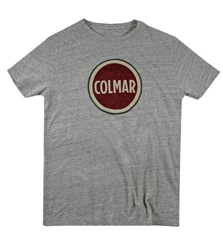 Colmar Solid Color T-shirt Grey Melange