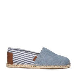 Toms Classic Blanket Stitch Chambray