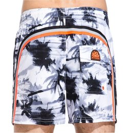 Sundek Board Short Miami Dream White
