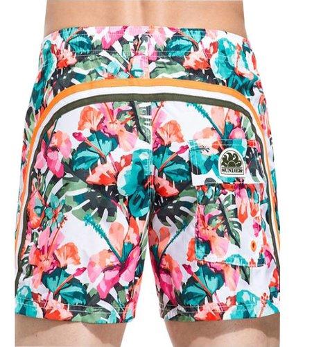 Sundek Swim Short White