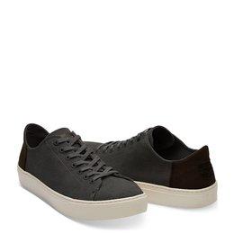 Toms Lenox Sneaker Washed Canvas Black