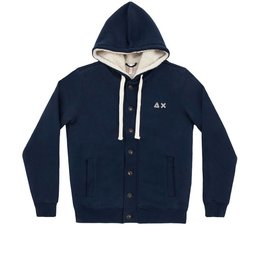 SUN68 Hood Jacket Double Cotton