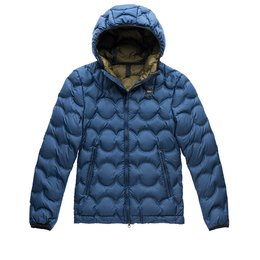 Blauer Down Jacket In Opaque Wave Goose Down