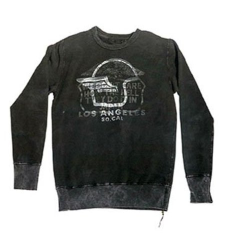 Rude Riders Custom Camou Sweat Outrider Black