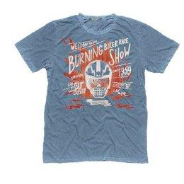 Rude Riders Burning Race T-Shirt