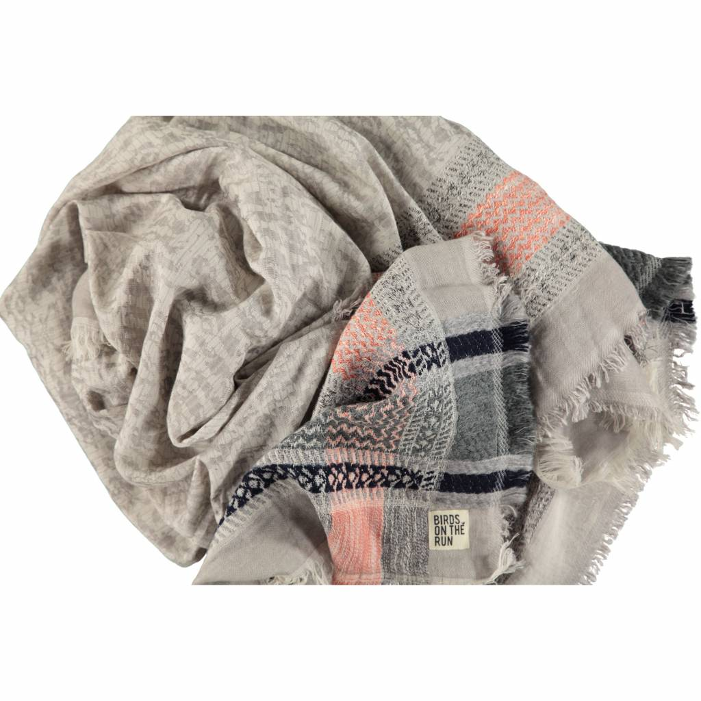 Graphic camouflage misty grey
