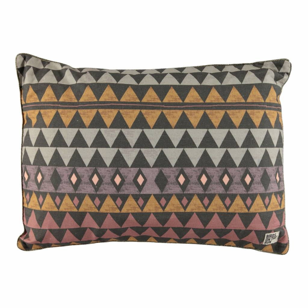 Cushion cover playing graphic triangle