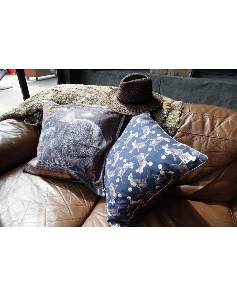 Cushion cover Funky bear multi