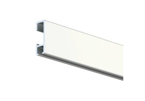 Click Rail wit 5 lengtes van  2 of 3 meter