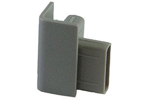Hoekverbinder Click Rail grijs