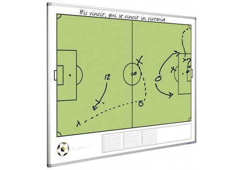 Full Colour whiteboard Voetbalveld