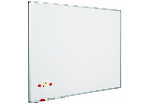 Whiteboard gelakt staal Softline profiel