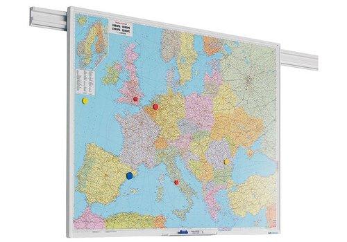 Landkaart Europa PartnerLine profiel
