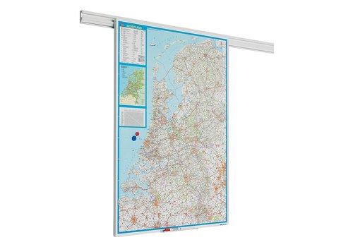 Landkaart Nederland PartnerLine profiel