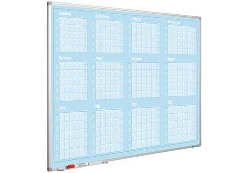 Planbord Jaarplanner augustus-juli