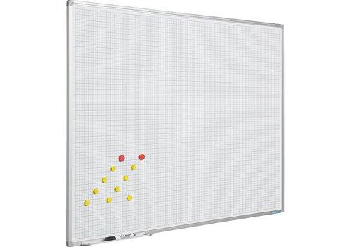 Whiteboard Geruit 5x5 cm.
