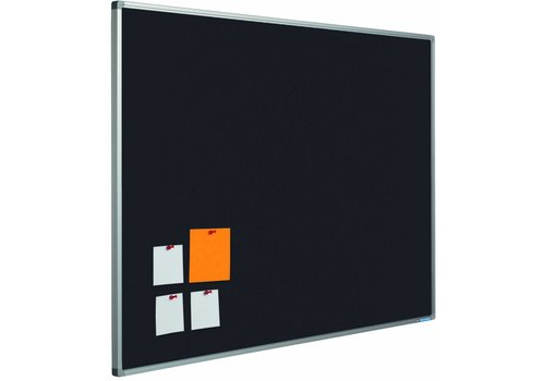 Prikbord Bulletin  basis kleur Zwart-2209