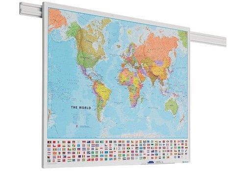 Wereldkaart PartnerLine profiel