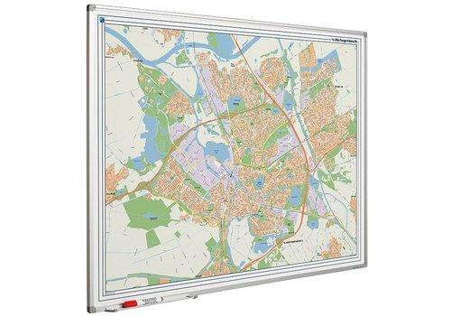 Plattegrond van Den Bosch