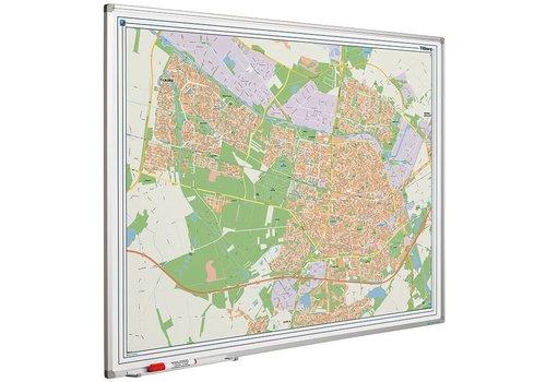 Plattegrond van Breda