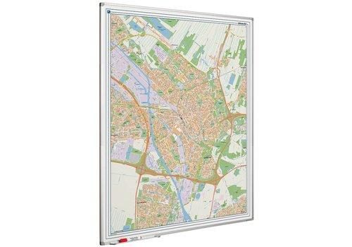 Plattegrond van de stad Utrecht