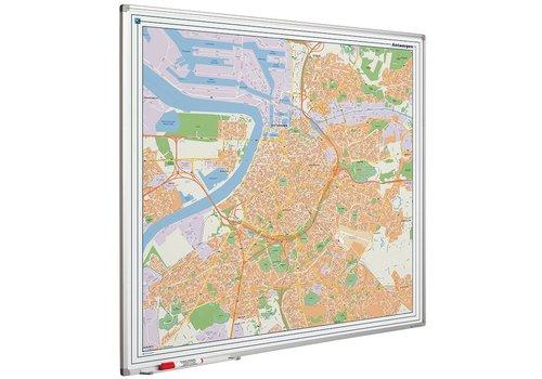 Plattegrond van Antwerpen